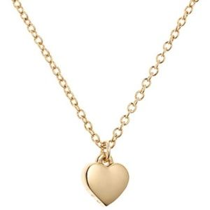 Ted Baker Hara Tiny Heart Pendant Necklace in Gold